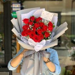 Bó hoa sinh nhật lãng mạng