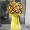 Kệ hoa hướng dương chúc mừng khai trương